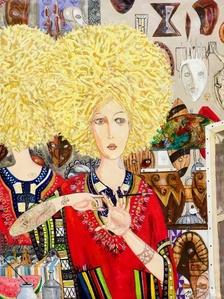 Blonde Dashiki Queen