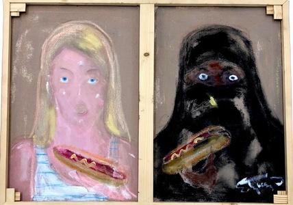Mustard on a Burka