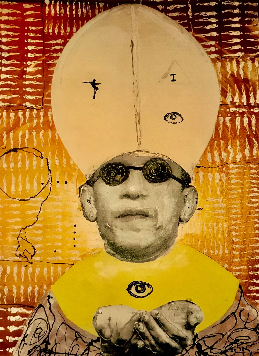 Pope Obama   King of the ''Gauche caviar'' - Ealy Mays, Collage 2009