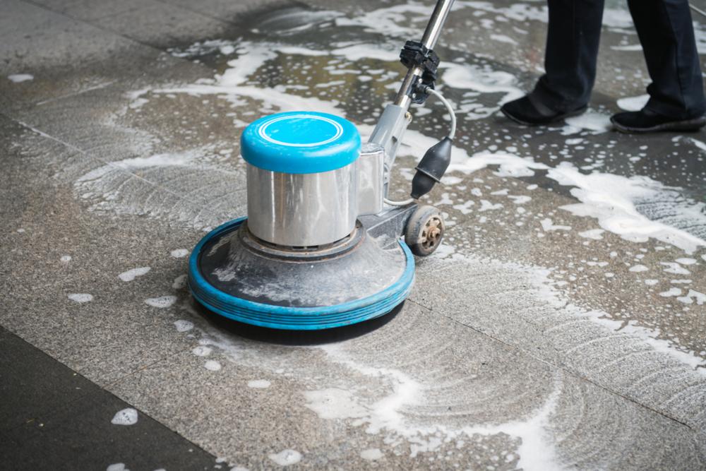 Terrazzo / Floor Finish Restoration -