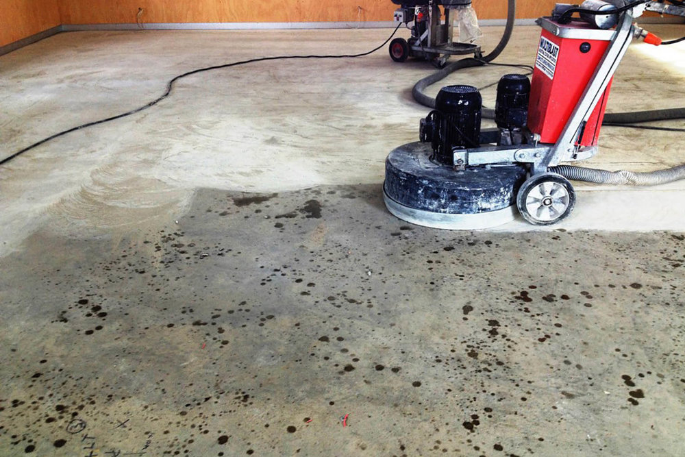 Concrete Grinding / Polishing -