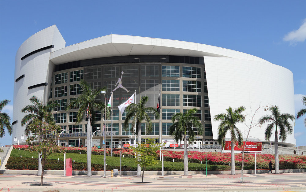 American Airlines Arena -  Home of the 2006, 2012 and 2013 NBA Champion Miami Heat17,200 seats, 28 suites, 56 logesLEED Green Building CertificationOpened 2009Full service janitorial