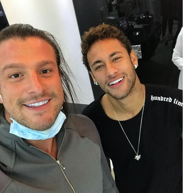 Dr. Rafael Puglisi com Neymar