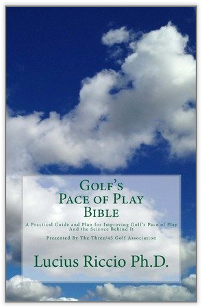"""Our Pace of Play Management solution is modeled on the science behind the """"Pace of Play Bible""""    Click for more Science Information!"""