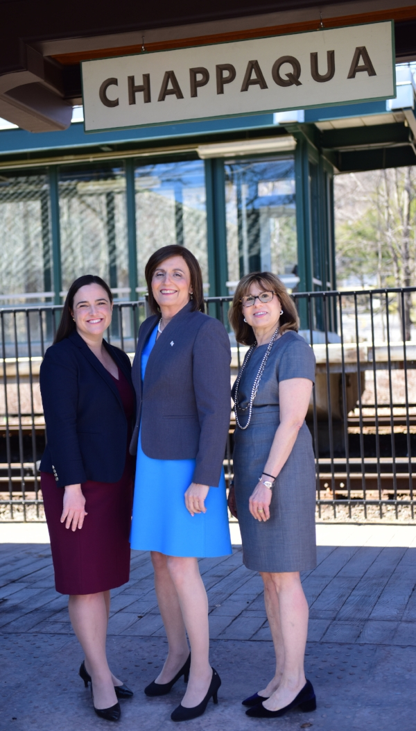 From L to R: Ivy Pool, Kristen Browde, Gail Markels