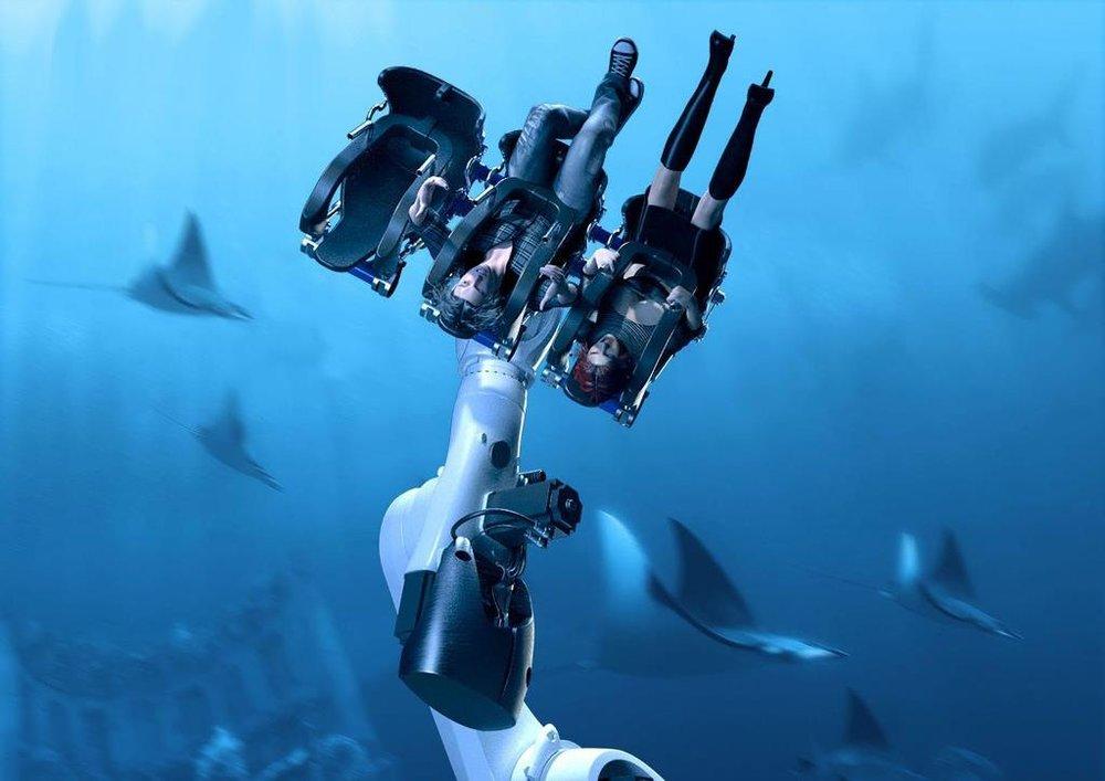 水下乘坐 - Underwater Ride