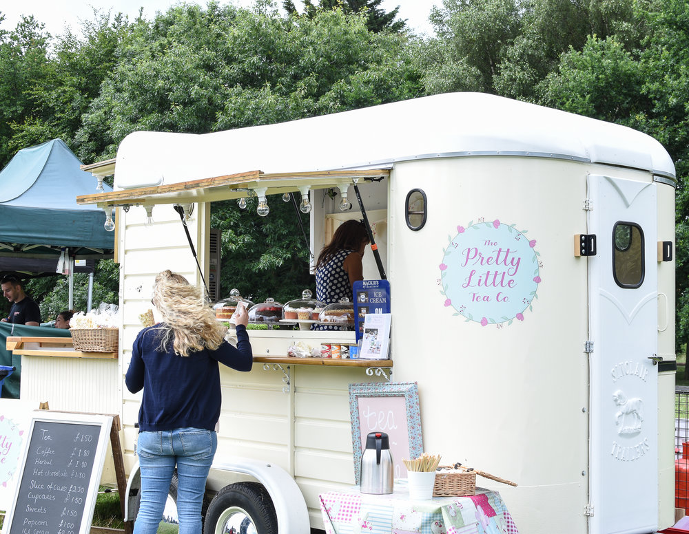 The Pretty Little Tea Co- The Ultimate Mobile Vintage Afternoon Tea Experience! Prettylittleteaco.co.uk 07305306526 or 07480763972