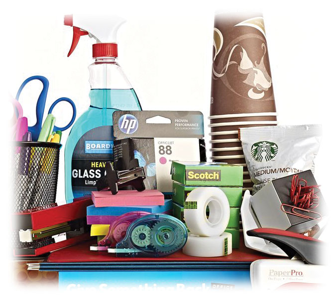 Explore office, breakroom and janitorial supplies.