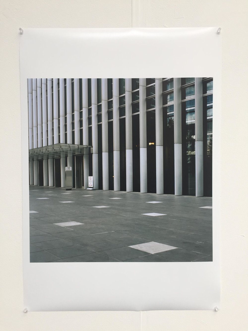 Original A1 print exhibited at The Old Truman Brewery.£499 - Item Code: EP1