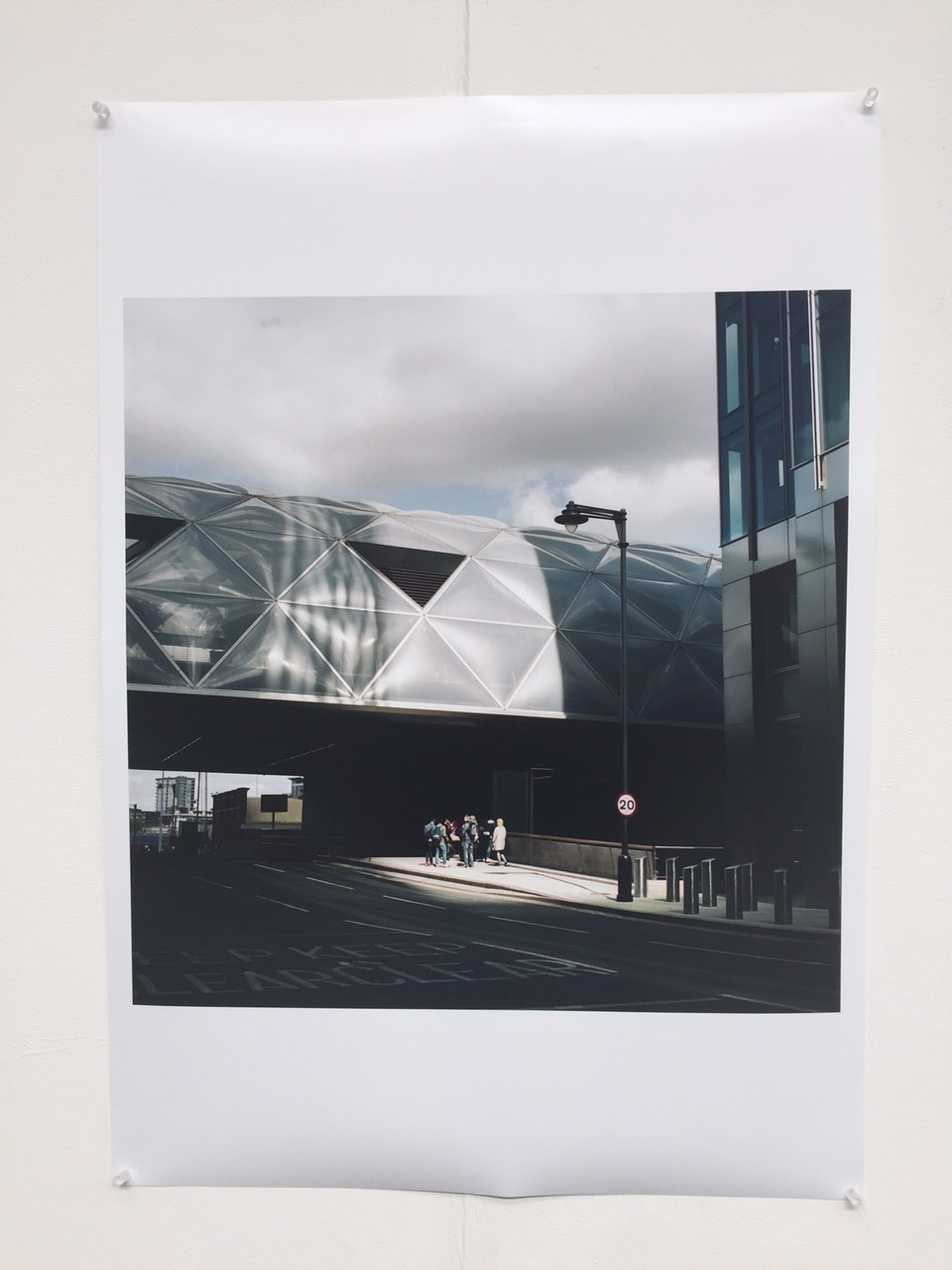 Original A1 print exhibited at The Old Truman Brewery.£629 - Item Code: EP4