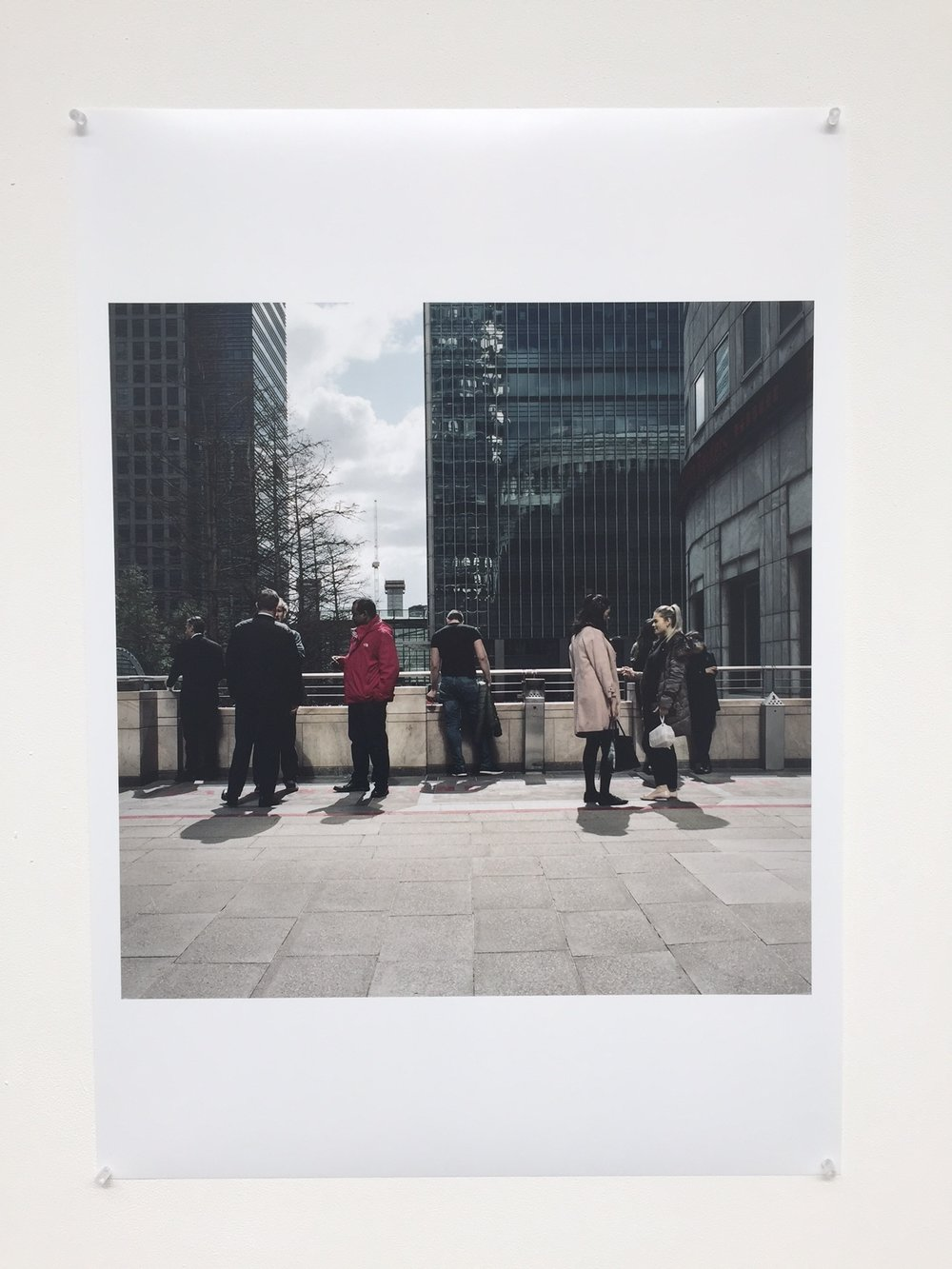 Original A1 print exhibited at The Old Truman Brewery.£499 - Item Code: EP6