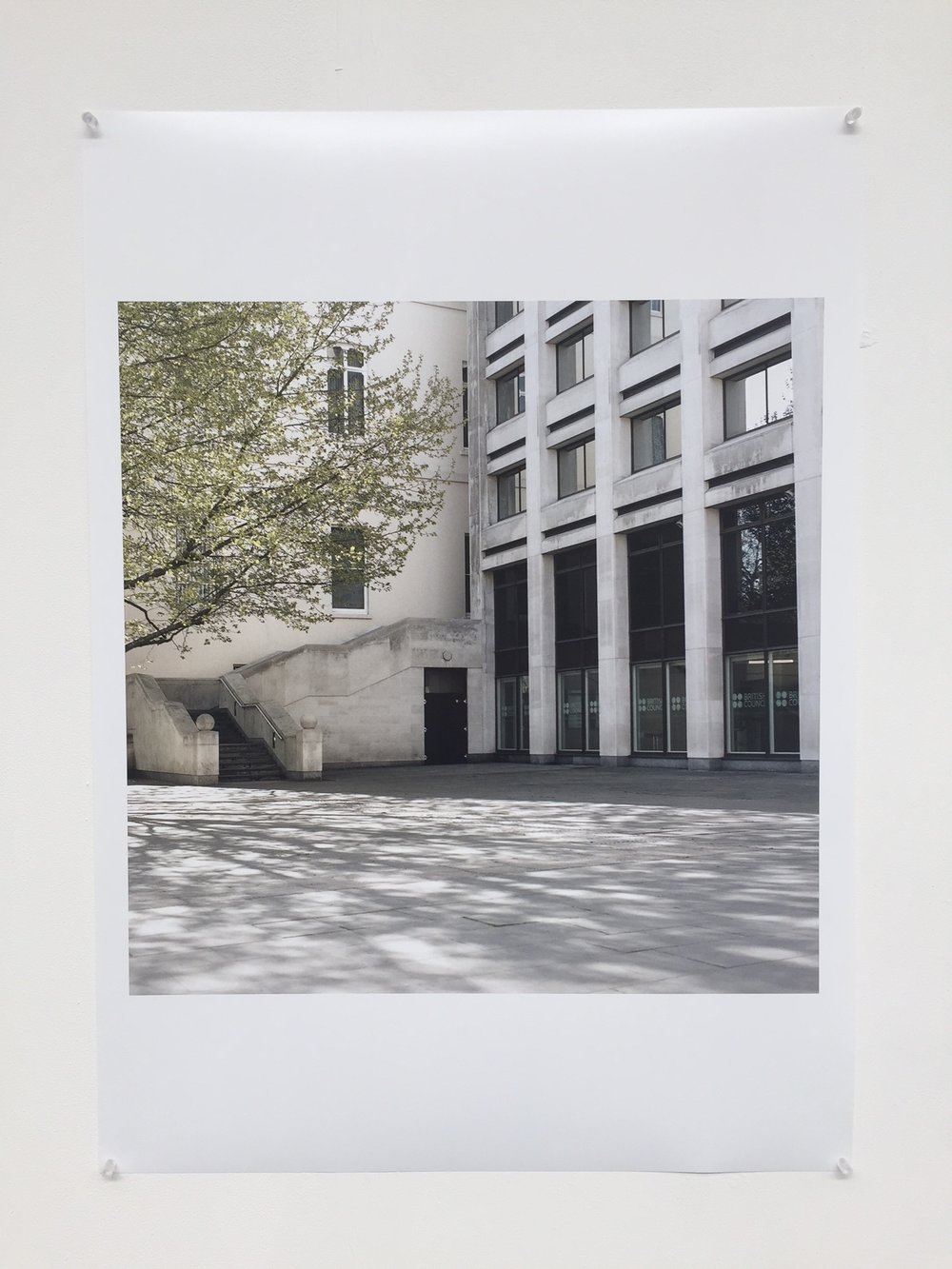 Original A1 print exhibited at The Old Truman Brewery.£499 - Item Code: EP7
