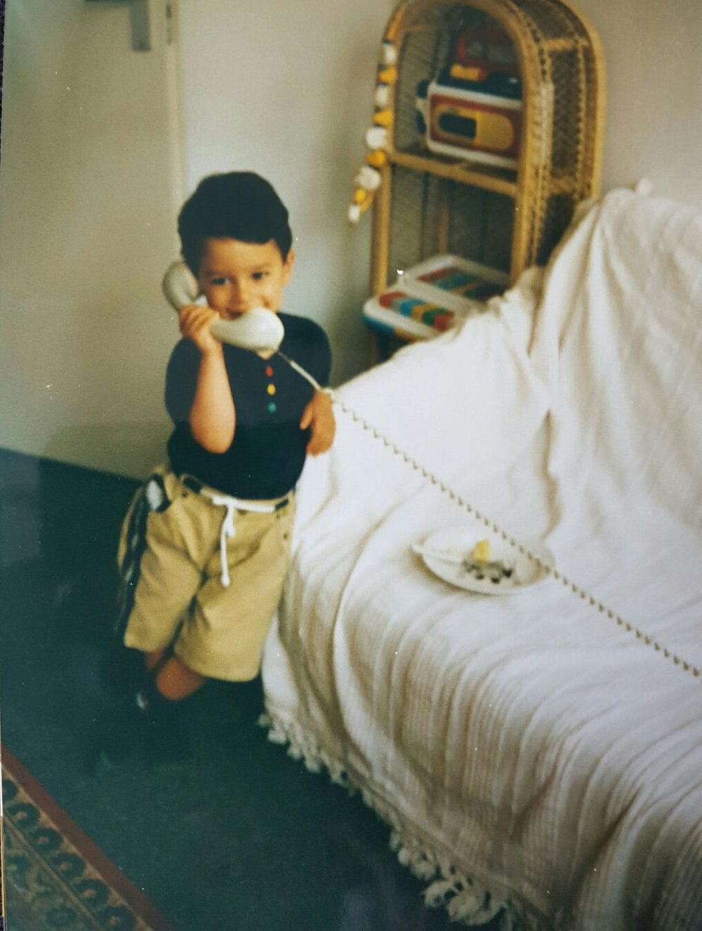 me taking your call