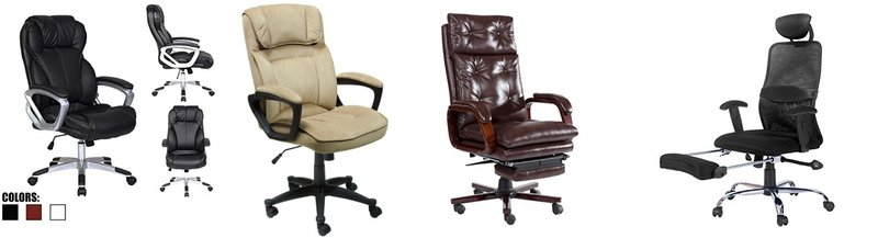 4 Great Reclining Office Chairs - Rated by our experts