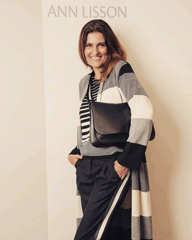 True love story...black and ivory !!! #annlisson #stripes #streetstyle  #giannichiarini