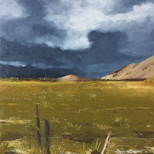 """Fall storm over the range"""