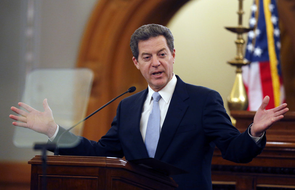 Kansas Governor Sam Brownback, notorious for his aggressive tax cuts. Source: US News