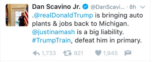 Source: Dan Scavino @scavino45
