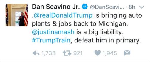 Source: Dan Scavino @scavino45