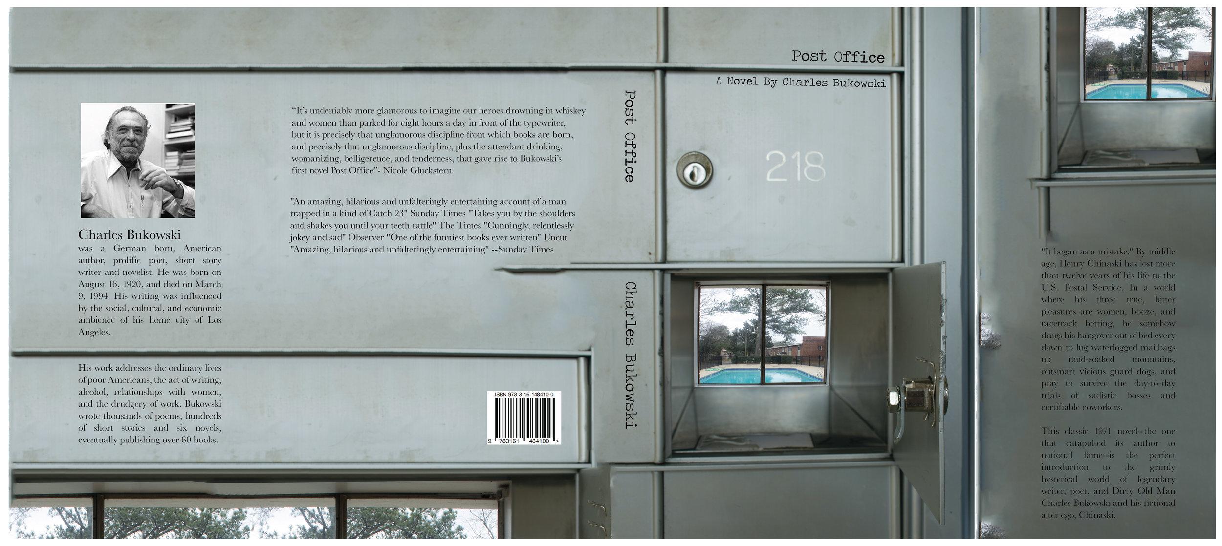 Post fice Book Covers Matt DeMilner