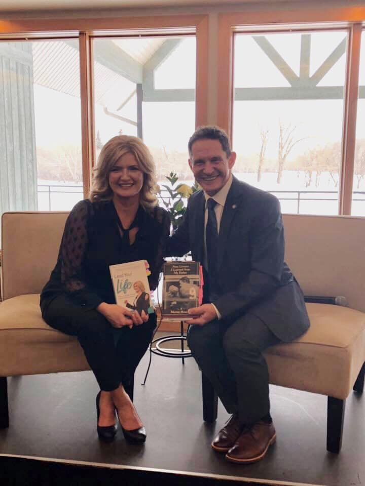 Dr. Murray Howe - Author of the Nine Lessons I Learned from My Father; A tribute to Gordie Howe Saskatchewan Book Launch, November, 2018.