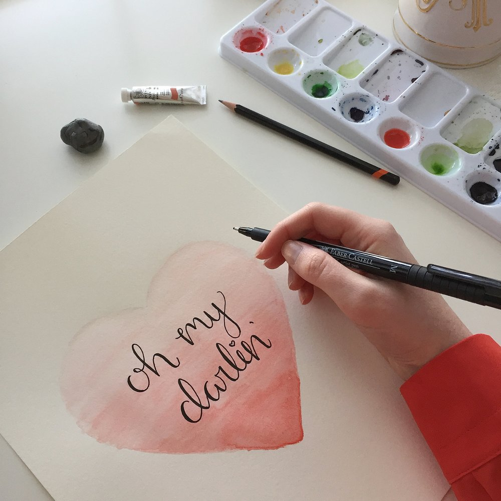 Ombre Watercolor Heart Tutorial Anna Kay Artworks11.JPG