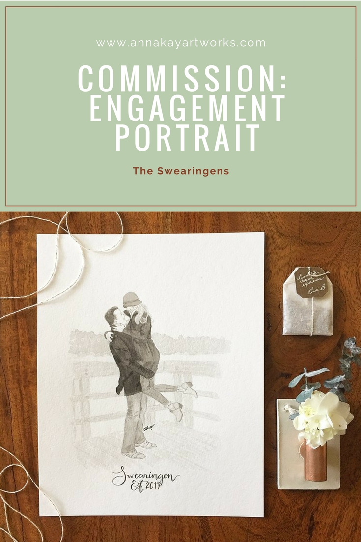 Watercolor Engagement Portrait Commission Anna Kay Artworks.png