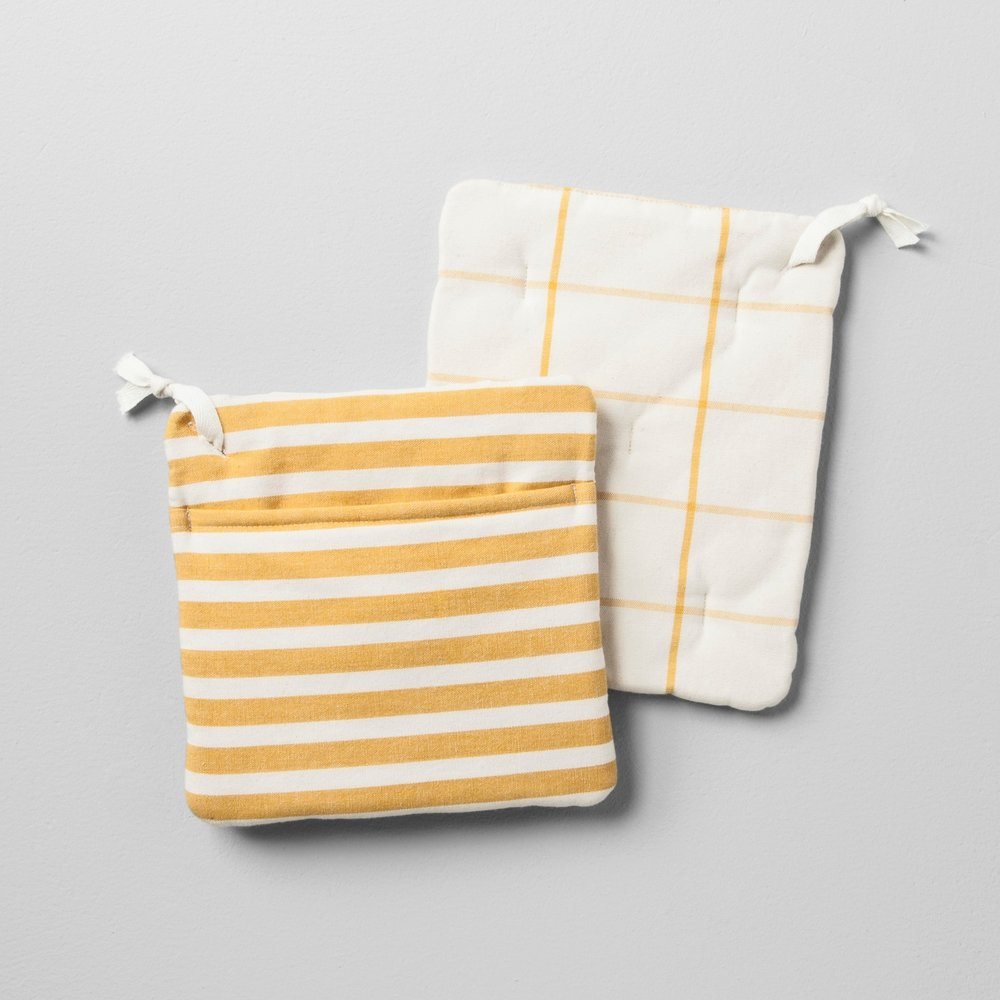 Hearth and Hand, potholders, set of 2 -