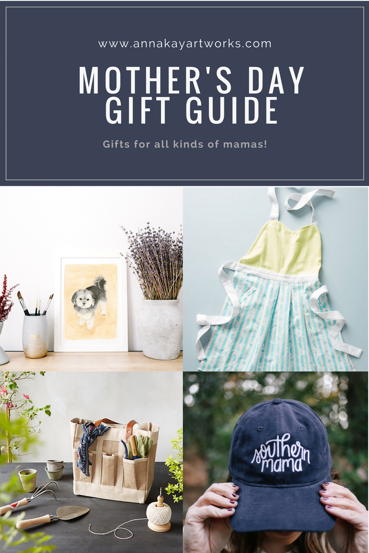 Mother's Day Gift Guide Anna Kay Artworks