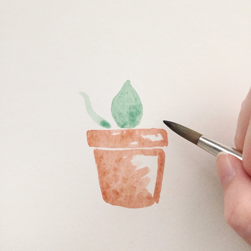 Free Watercolor Succulent Tutorial 5 Anna Kay Artworks