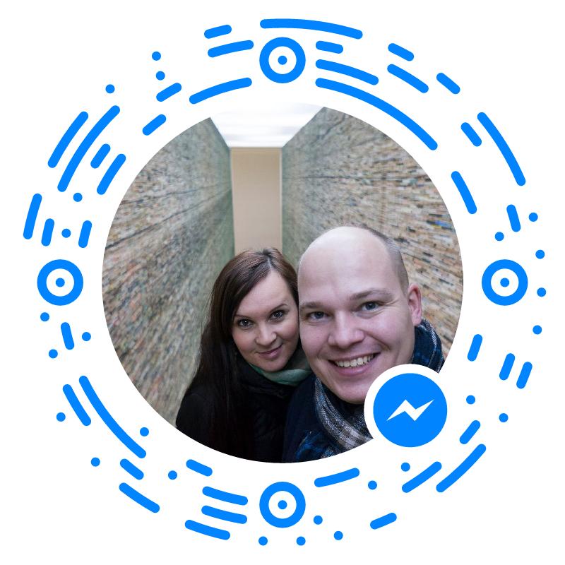 Napíšte nám cez Messengerkliknutím alebo oskenovaním tohoto obrázku