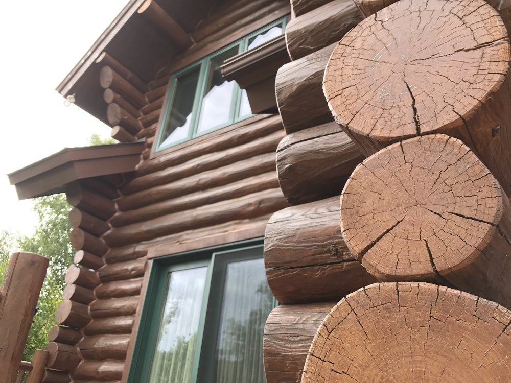 Our wood restoration services include preserving wood house exteriors as well as decks.