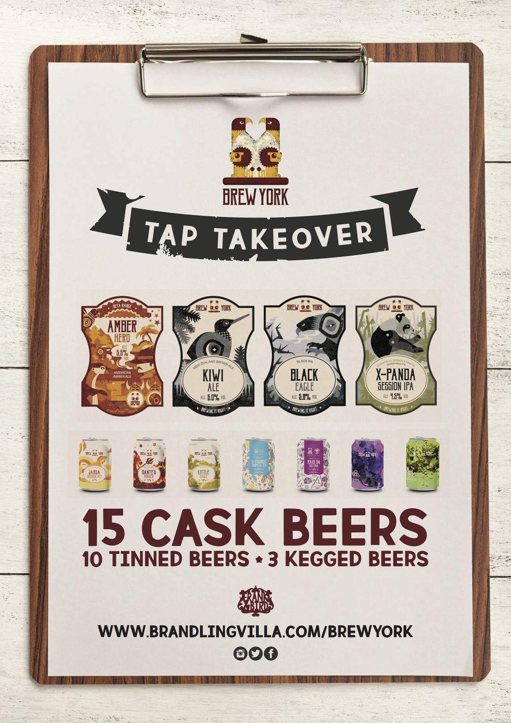 Brew York Tap Takeover
