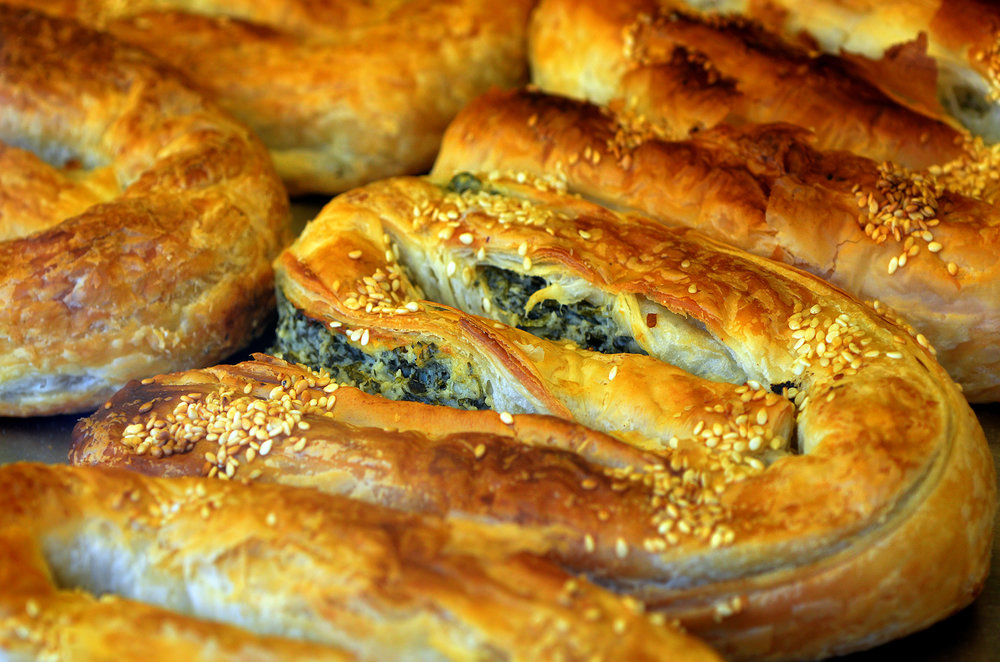 Borek, from Bosnia & Herzgovina, but popular throughout Turkey & southern eastern Europe