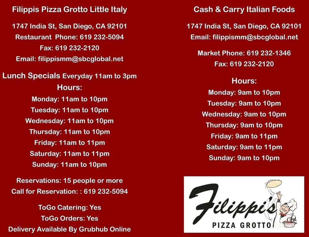 Filippis Little Italy Info.jpg