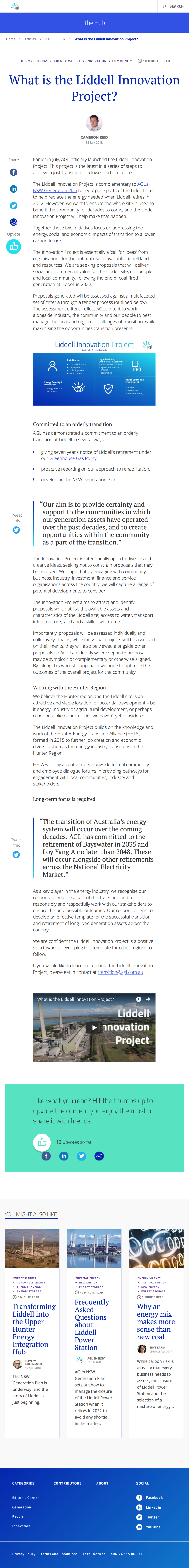 What is the Liddell Innovation Project    AGL.png