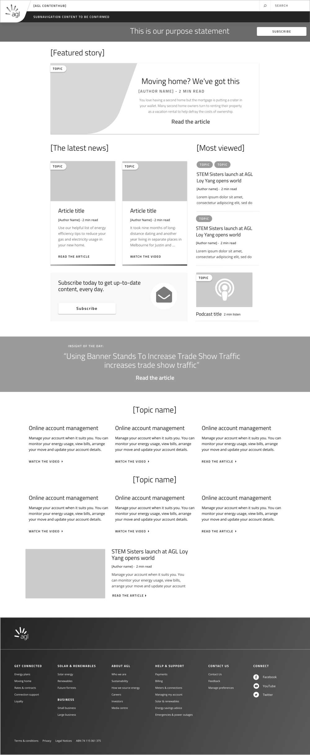 Landing page exploration - Current components.png