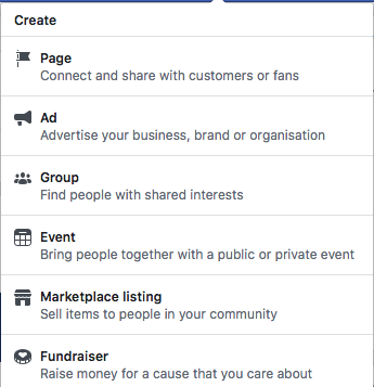 Facebook Business Page Create Real Estate Page