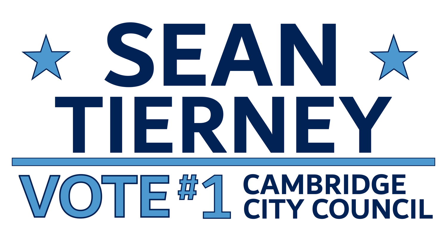 Sean Tierney | #1 Cambridge City Council