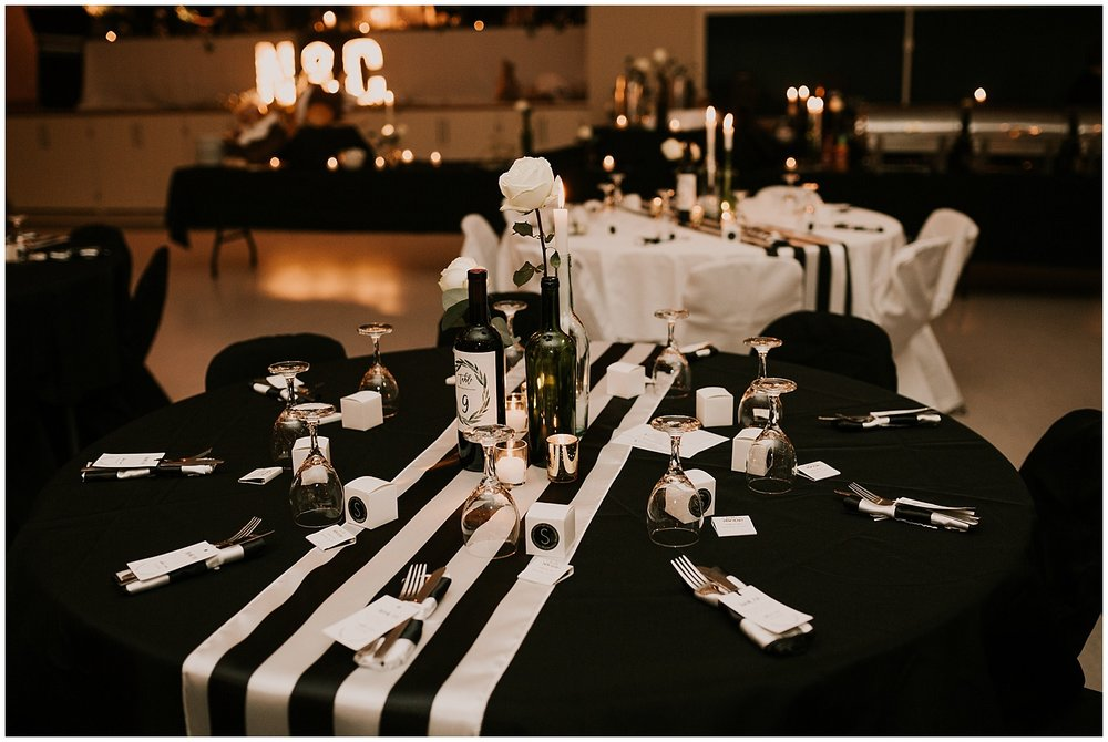 MODERN MEETS ROMANCE - A BEAUTIFUL NEW YEARS EVE WEDDING