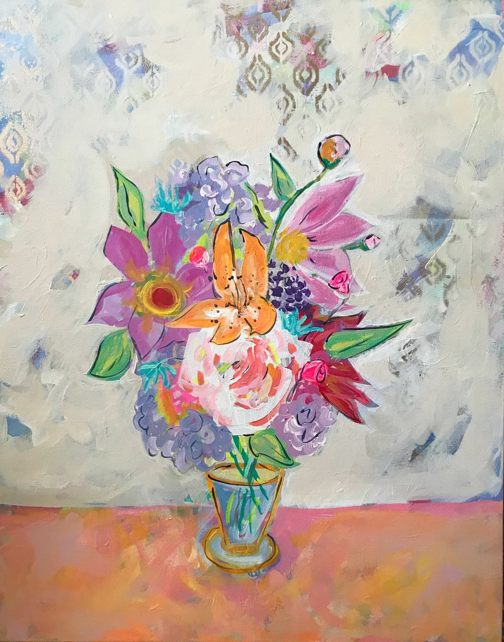 The Shelter of Flowers Collection #1    24in. x 30in.