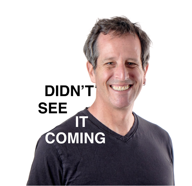 Didn't See it Coming - Marc Stoiber