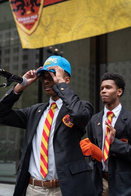 Photo courtesy of Urban Prep Academies