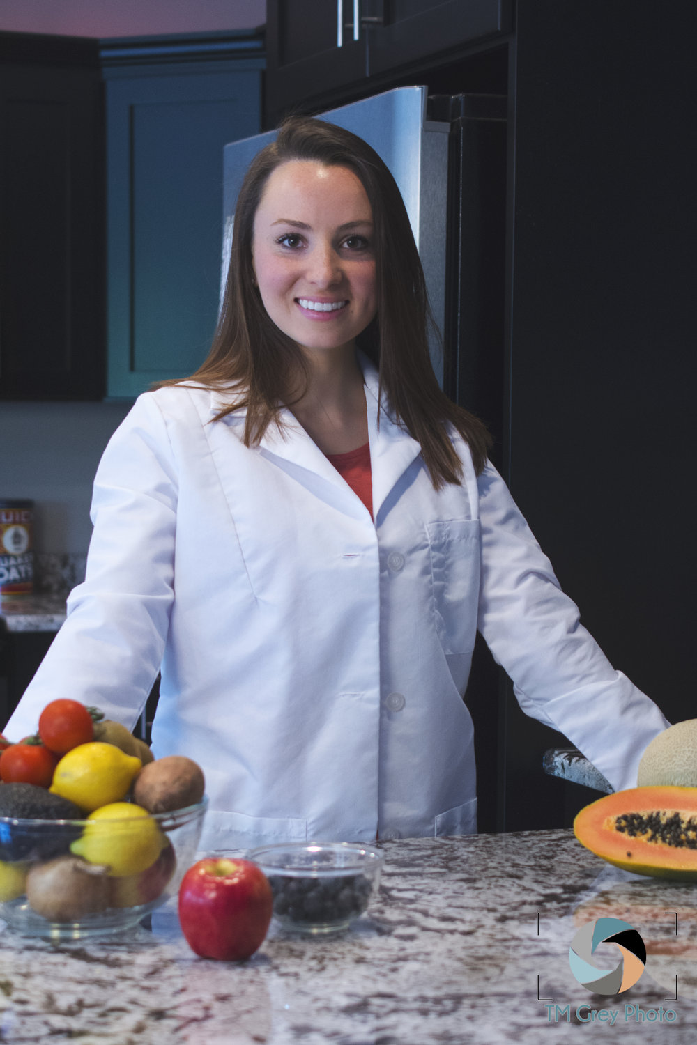 Katherine McNitt RD, LDN - She is a Registered Dietitian Nutritionist with experience in nutrition counseling, community programs, medical nutrition therapy, and food service management. She received her B.S. in Nutritional Science from Penn State and completed her dietetic internship at the University of Houston. Katherine's specialties include adult weight loss & weight management, rehabilitation nutrition, prenatal nutrition, and much more.