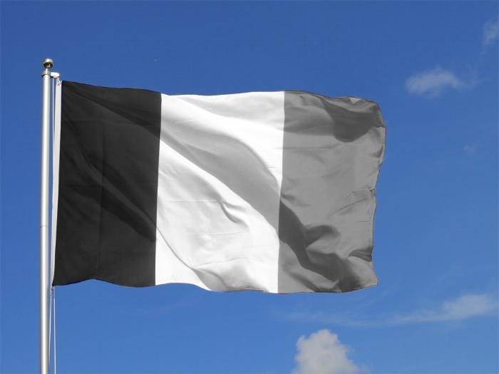 Black Blanc Beur, 2016  Drapeau Français désaturé   Desaturated French Flag   Dimensions Variable