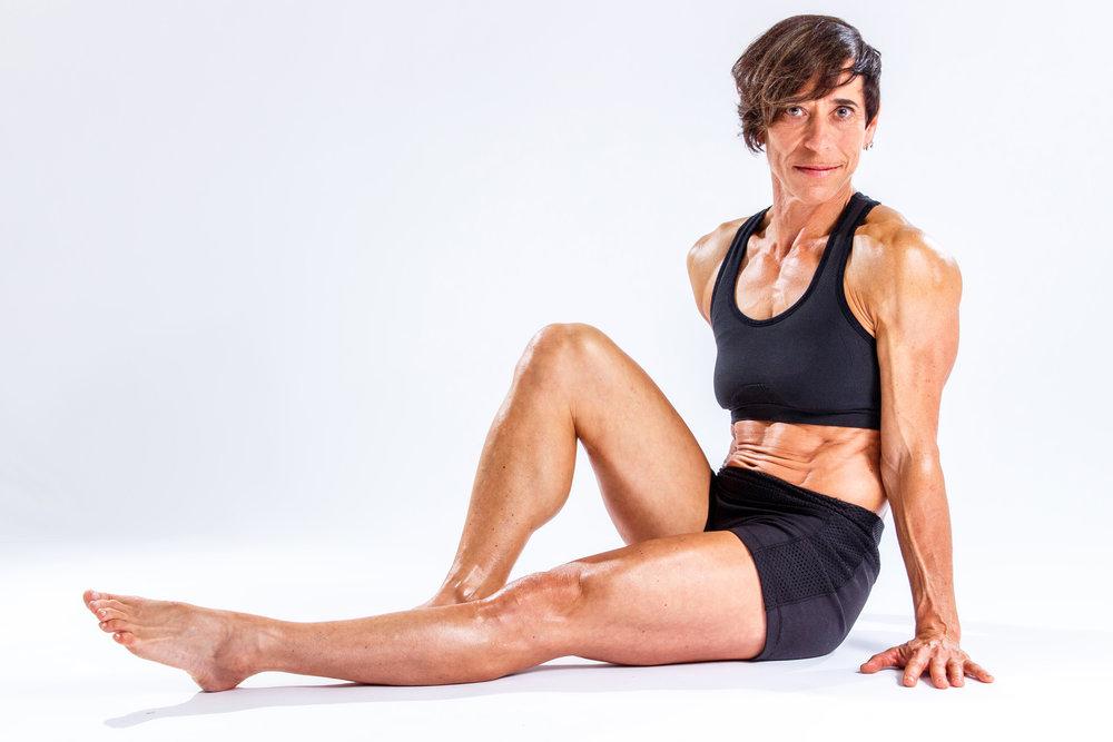 Jessie Steinberg, Fitness Model and Bodybuilder. Brampton, Ontario.