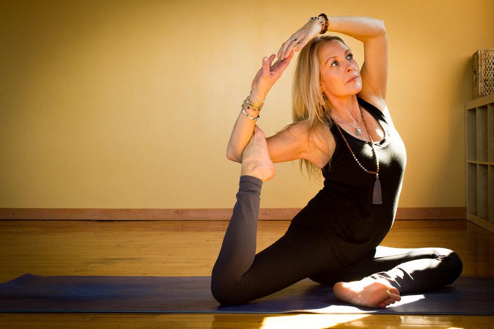 Eliza Jane Allen of Kaulika Yoga. Brampton, Ontario.