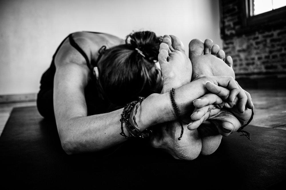 Miriana Simpraga of Kaulika Yoga. Brampton, Ontario.