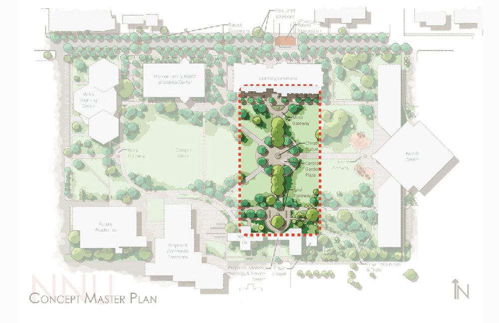 Phase 1: Christ Plaza