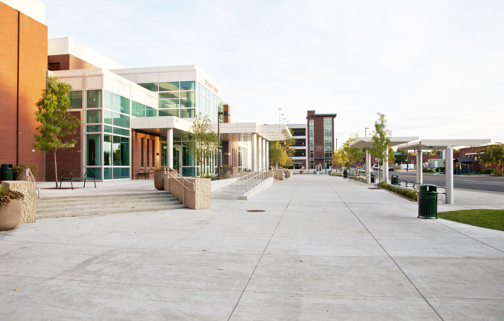 Boise State University Transit Center
